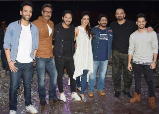 Ajay Devgn, Tabu and the entire team of Golmaal Again kickstart their round of promotions with Rohit Shetty's Khatron Ke Khiladi