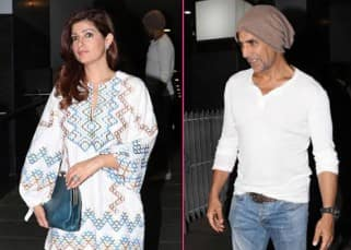 Akshay Kumar and wife Twinkle Khanna spotted on a dinner date - view pics