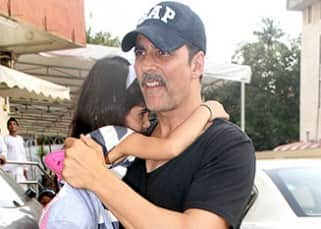 Akshay Kumar carrying daughter Nitara during movie outing is definitely the cutest thing you will see today!