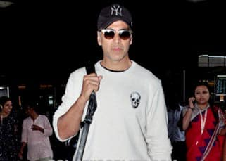 Akshay Kumar is finally back in Mumbai from his LAVISH family vacation!