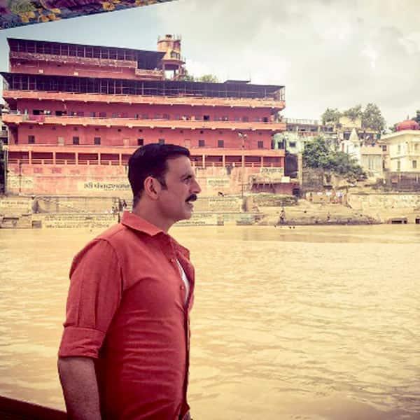 Akshay Kumar reaches holy city of Varanasi for Jolly LLB 2 shoot