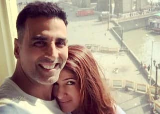 Akshay Kumar with wife Twinkle Khanna after a dinner date