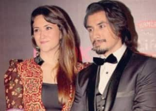 Ali Zafar and Ayesha Fazli snapped together during an award  event