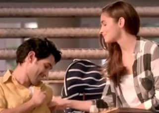 Alia Bhatt and Vikrant Massey having a cornetto moment in this new Ad