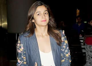 Alia Bhatt outside Mumbai aiport