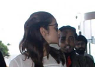 Alia Bhatt outside Mumbai airport