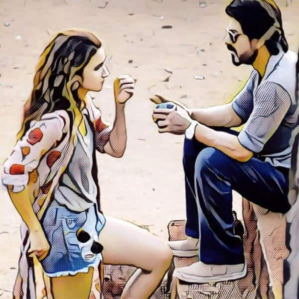 Alia Bhatt shares a picture with Shah Rukh Khan from 'Dear Zindagi'