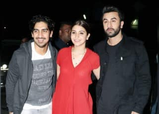 Alia Bhatt, Sidharth Malhotra, Arjun Kapoor spotted at the special screening of  Ae Dil Hai Mushkil