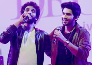 Amaal and Ayaan Malik during D'Décor's event
