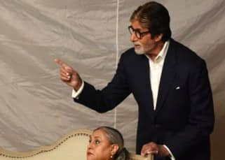 Amitabh Bachchan and Jaya Bachchan's photo shoot for an ad