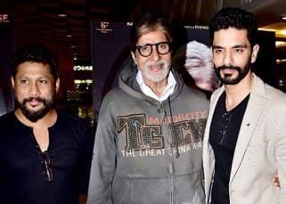 Amitabh Bachchan, Taapsee Pannu and team have a premiere party for Pink!
