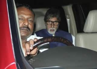 Amitabh Bachchan visits Aishwarya Rai Bachchan's father at Lilavati Hospital – view pics