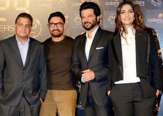 Anil Kapoor announces Season 2 of '24' with Sonam Kapoor and friend Aamir Khan!