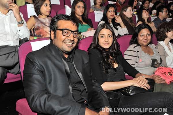 Anurag Kashyap, Anushka Sharma and Tannishtha Chatterjee at London Indian Film Festival 2012