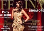 Anusha Dandekar sizzles on magazine cover of Femina Singapore