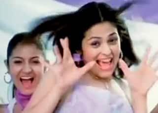 Anushka Sharma as friend of Anjana Sukhani in a Spinz Talc  TV Commercial