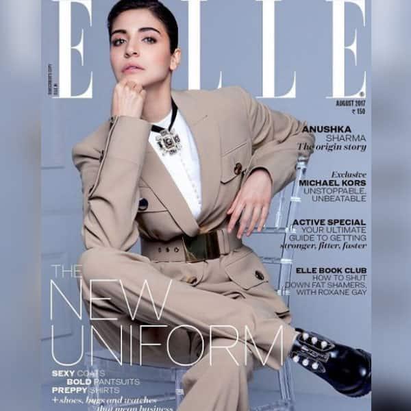 Anushka Sharma Graces The Cover Of Elle Anushka Sharma