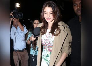 Anushka Sharma leaves for her Italian wedding with beau Virat Kohli?