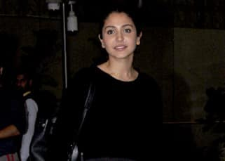 Anushka Sharma snapped at Mumbai airport