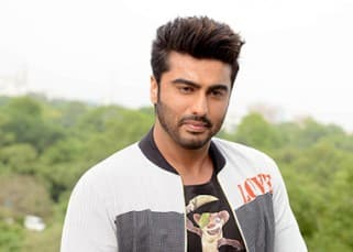 Arjun Kapoor captured by shutterbugs as he promotes the animated movie 'Ice Age'