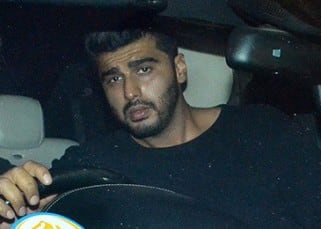 Arjun Kapoor spotted leaving Malaika Arora Khan's apartment late at night, see pics!