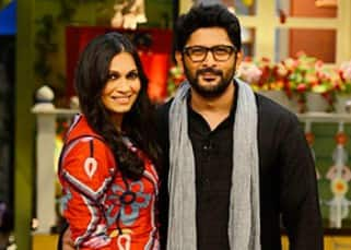 Arshad Warsi and his wife Maria Goretti were he happy guests on 'The Kapil Sharma Show'