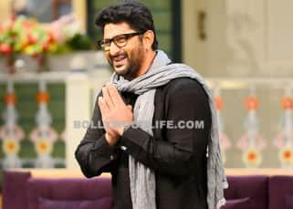 Arshad Warsi wishing fans on 'The Kapil Sharma Show'