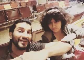 Avika Gor's selfie with Manish Raisinghan in Cannes