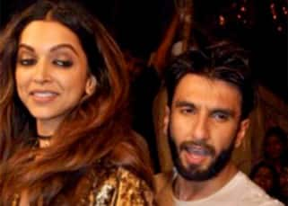 Aww! Boyfriend Ranveer Singh makes way for girlfriend Deepika Padukone from a CROWDED party!