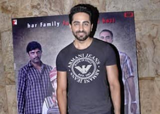 Ayushmann Khurana spotted at  'Titli' screening