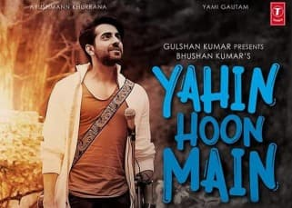 Ayushmann Khurana's new song 'Yahin Hoon Main' out
