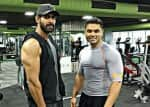 Check out Rana Daggubati working out for 'Baahubali 2'