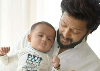 Birthday Special: These 7 Pictures of Ritesh Deshmukh with his son prove that he is Dotting Daddy