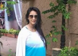 Chahat Khanna flaunts her baby bump during vacation