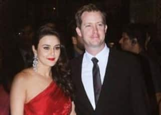 Check out pics from the wedding reception party of newly-wed Preity Zinta and Gene Goodenough here!