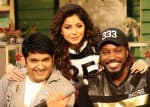 Chris Gayle dances to the tunes of Kanika Kapoor and Mika Singh at 'The Kapil Sharma Show'