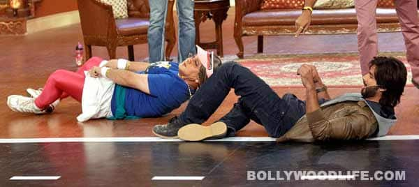 Comedy Nights with Kapil: Sonakshi Sinha dances with an injured foot and Sonu Sood flaunts his six pack abs!
