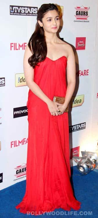 Deepika Padukone, Ranveer Singh, Alia Bhatt at the 59th Filmfare Awards Nomination party!