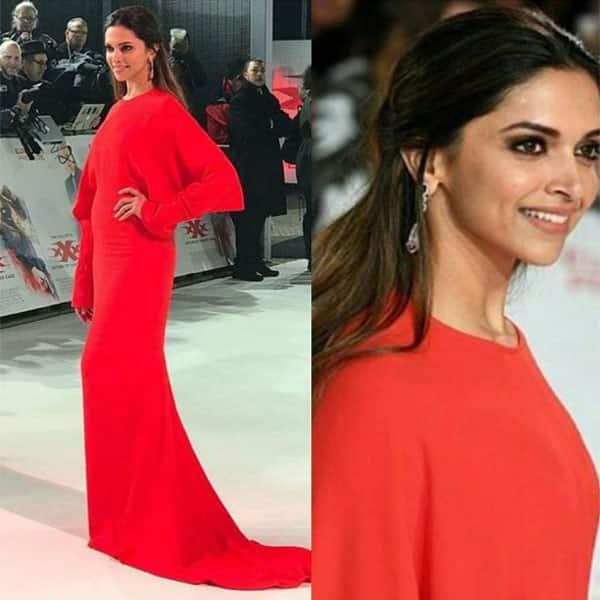 Deepika Padukone's this red gown by Stella McCartney was grabbing everyone's eyeballs