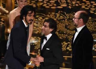 Dev Patel presenting Oscar at 88th Academy Awards