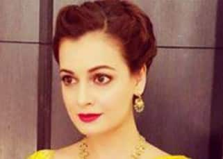 Dia Mirza defines beauty in traditional hand woven saree
