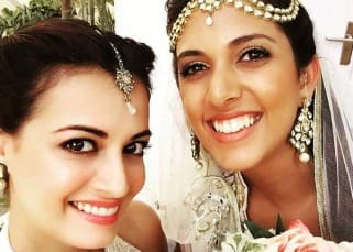 Dia Mirza takes off from work to attend her childhood neighbor's wedding