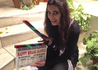 Diana Penty shares behind the scene pic from 'Happy Bhaag Jayegi' set