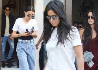 Did Katrina Kaif enjoy a lunch with Ahan Shetty and girlfriend Tania Shroff?