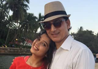 Digangana Suryavanshi poses with her father