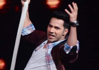 'Dishoom' star Varun  Dhawan on sets of 'Sa Re Ga Ma Pa'