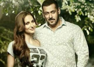 Elli Avram's picture with Salman Khan for Being Human