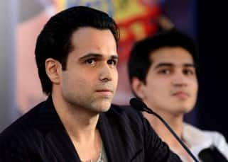 Emraan Hashmi unveils his book 'The Kiss of Life' in Delhi