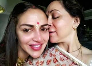 Esha Deol celebrates birthday with husband and Hema Malini