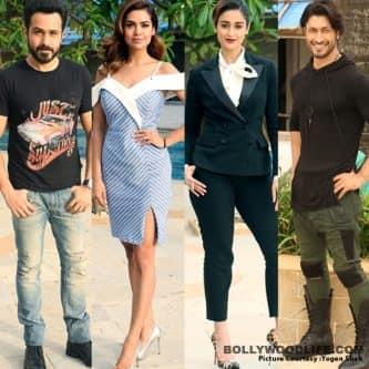 Esha Gupta, Emraan Hashmi and Ileana D'Cruz promote Baadshaho sans Ajay Devgn